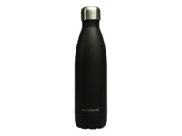 Botella de acero inoxidable Carbon Black