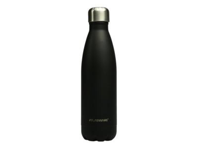 Botella de acero inoxidable Carbon Black