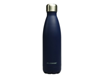Botella de acero inoxidable Navy Blue