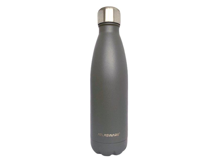 Botella de acero inoxidable Navy Grey