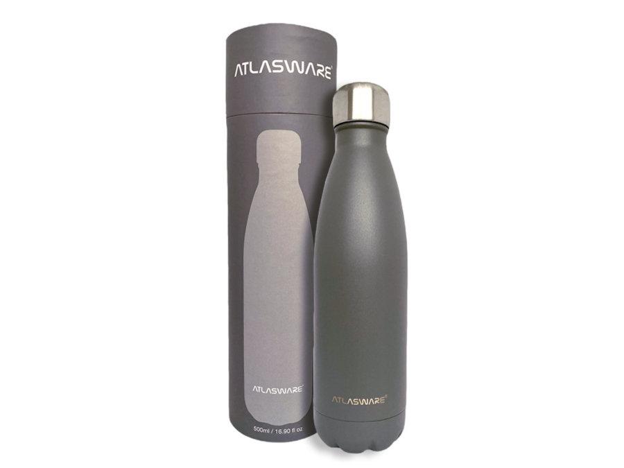 Empaque para botella Navy Grey